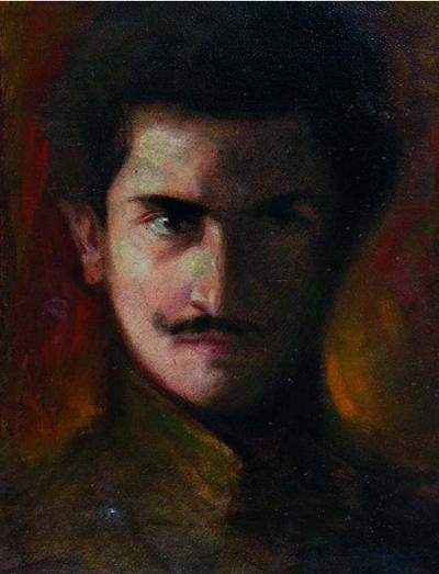 Felice Casorati, Autoritratto