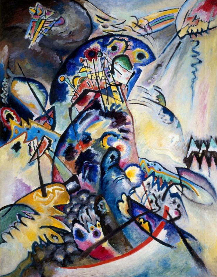 10.-Wassily-Kandinsky-Cresta-azzurra-1917-olio-su-tela